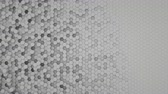 octagon : 4K Abstract Honeycomb Grid. Seamless loop
