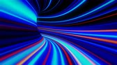 perception : 4K Abstract Warp Tunnel. Seamless loop Stock Footage