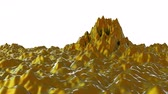 nano : 4K Colorful Ferrofluid. Seamless loop Stock Footage
