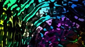 folyo : 4K Glimmering Abstract Science Fiction Background. Seamless Loop.