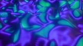 neural network : 4K Abstract neural network. Seamless loop Stock Footage