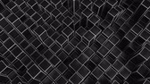 アルミ : 4K Abstract Geometric Cubes. Seamless Loop. Technology Background
