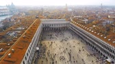 marcos : Time lapse of Saint Marks square in Venice, Italy. Vídeos