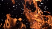 explodir : Fire and Water Stock Footage