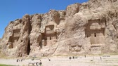 article : iran persepolis ruins in the old historical monuments and ruin destination