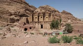 kamie�� : the antique site of Petra in Jordan the beautiful wonder of the world