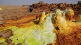 operador : in ethiopia africa the volcanic depression of dallol