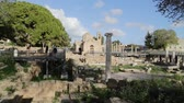 kalıntılar : in cyprus the old church and the historical heritage of history