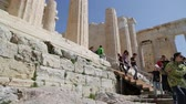 yunan : in athene greece the antique acropolis temple and classical history ruins