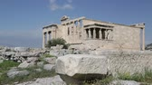 marmur : in athene greece the antique acropolis temple and classical history ruins