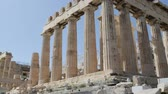 geçmiş : in athene greece the antique acropolis temple and classical history ruins