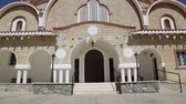 nicosia : in cyprus the old church and the historical heritage of history. Stock Footage