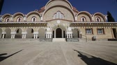 limassol : in cyprus the old church and the historical heritage of history. Stock Footage