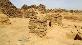 파라오 : in africa sudan el kurru The ancient temple of the black pharaohs in the middle of the desert 무비클립