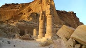 faraon : in africa sudan musawwarat es sufra the antique temple of the black pharaohs in the middle of the desert