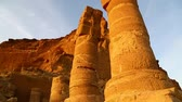 гало : in africa sudan musawwarat es sufra the antique temple of the black pharaohs in the middle of the desert