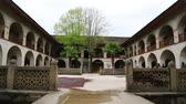 kafkaslar : in azerbaijan sheki the old architecture in the town protect by unesco