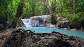 esmeralda : Erawan Waterfall (dolly shot), Kanchanaburi, Thailand