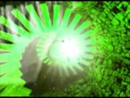 spirala : Spiral stairs, zoom into the retina eye, green