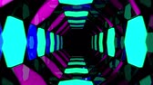 spacecraft : 3d abstract tunnel animation