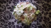 Bouquet with white and pink flowers bridal wedding