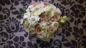 düğün : Bouquet with white and pink flowers bridal wedding