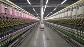 сырье : Production of yarn. Threads, coloured 5