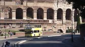 tourism : Various angles of the roman Colosseum or Flavian Amphitheatre.
