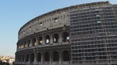 imparatorluk : Various angles of the roman Colosseum or Flavian Amphitheatre.