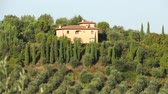 toscana : Scenes from the countryside of of Montespertoli, Italy. Stock Footage