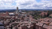 toscana : Scenes from Siena Italy Stock Footage