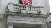 lender : View of the exterior of the New York Stock Exchange.