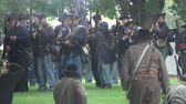 broda : View of Civil War soldiers in a pitched battle