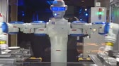 Robot bartender in one of the bars of Tokyo (Japan)