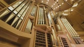 architectural : View of the big organ in the Moscow hall
