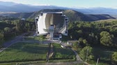 condicionador : The worlds largest solar furnace in Font-Romeu-Odeillo (France).