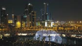 luces de noche : Musical fountain show at Jaber Al Ahmad Cultural Centre, Kuwait