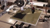 prototype : Printing with Plastic Wire Filament on 3D Printer