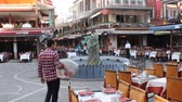 Day scene with plaza from Istanbul Stock Footage
