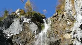 klinserfall waterfall in totes gebirge in austria