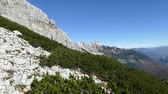 beautiful panorama of grosser priel in austrian alps