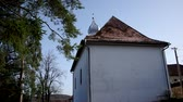 Словакия : Evangelical Reformed Church was built in. 1786 in Gemerská Horka, district Roznava, Slovakia Стоковые видеозаписи