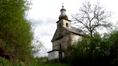 Словакия : The Evangelical church from 1749 in Petrov, district Roznava, Slovakia