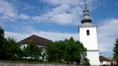 Словакия : Renaissance Reformed Church from the 16th century in silická brezová, district Roznava, Slovakia