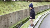 lody : Cute asian child playing in the park