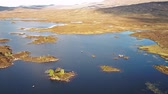 funda : Flight over the amazing landscape of Rannoch Moor next to Glencoe