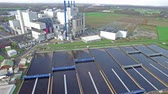 purified : KREFELD  GERMANY - DECEMBER 19 2015 : Garbage incineration plant working together with the purification plant