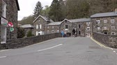snowdonia : Beddgelert  Wales - May 03 2018 : Beddgelert is a village and community in the Snowdonia area of Gwynedd, Wales