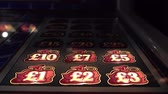 kumarbaz : Hull  England - May 04 2018 : Gambling machines blinking in the casino