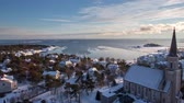 Timelapse of Hanko in the winter from the water tower